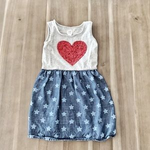 ❤️ 4th of July/Memorial Day Gap Dress 💙